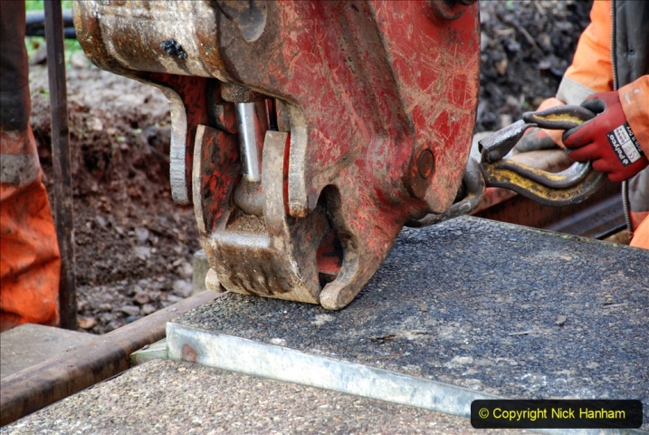 2020-01-08 Track renewal Cowpat Crossing to just beyond Dickers Crossing. (81) 081