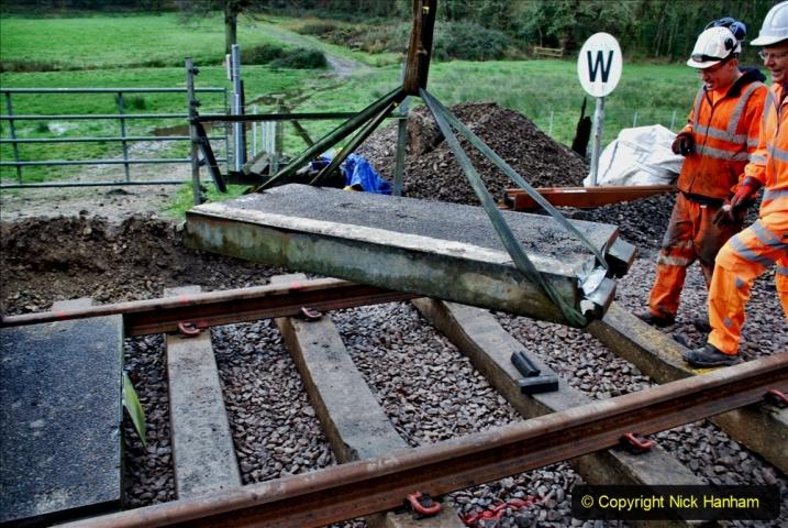 2020-01-08 Track renewal Cowpat Crossing to just beyond Dickers Crossing. (85) 085