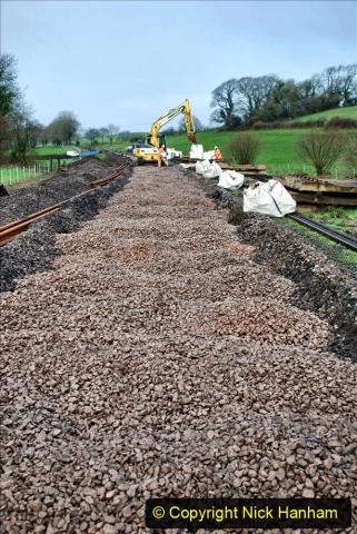 2020-01-08 Track renewal Cowpat Crossing to just beyond Dickers Crossing. (94) 094