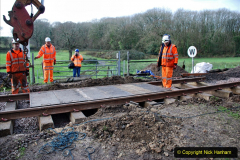 2020-01-08 Track renewal Cowpat Crossing to just beyond Dickers Crossing. (106) 106