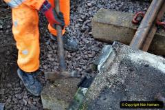 2020-01-08 Track renewal Cowpat Crossing to just beyond Dickers Crossing. (115) 115
