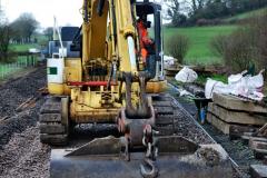 2020-01-08 Track renewal Cowpat Crossing to just beyond Dickers Crossing. (117) 117