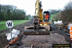 2020-01-08 Track renewal Cowpat Crossing to just beyond Dickers Crossing. (121) 121
