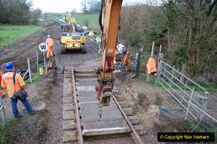 2020-01-08 Track renewal Cowpat Crossing to just beyond Dickers Crossing. (129) 129
