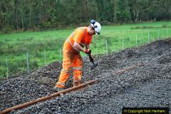 2020-01-08 Track renewal Cowpat Crossing to just beyond Dickers Crossing. (131) 131