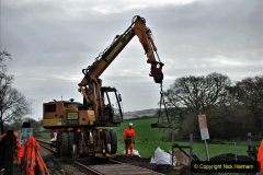 2020-01-08 Track renewal Cowpat Crossing to just beyond Dickers Crossing. (133) 133