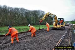 2020-01-08 Track renewal Cowpat Crossing to just beyond Dickers Crossing. (145) 145