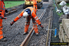2020-01-08 Track renewal Cowpat Crossing to just beyond Dickers Crossing. (148) 148
