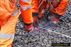2020-01-08 Track renewal Cowpat Crossing to just beyond Dickers Crossing. (150) 150