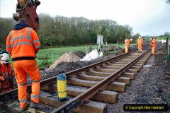 2020-01-08 Track renewal Cowpat Crossing to just beyond Dickers Crossing. (16) 016