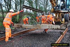2020-01-08 Track renewal Cowpat Crossing to just beyond Dickers Crossing. (160) 160
