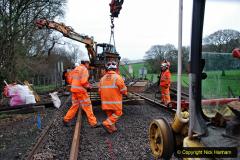 2020-01-08 Track renewal Cowpat Crossing to just beyond Dickers Crossing. (170) 170