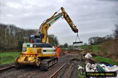 2020-01-08 Track renewal Cowpat Crossing to just beyond Dickers Crossing. (173) 173