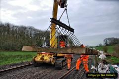 2020-01-08 Track renewal Cowpat Crossing to just beyond Dickers Crossing. (175) 175