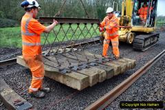 2020-01-08 Track renewal Cowpat Crossing to just beyond Dickers Crossing. (176) 176