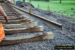 2020-01-08 Track renewal Cowpat Crossing to just beyond Dickers Crossing. (190) 190