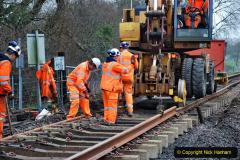 2020-01-08 Track renewal Cowpat Crossing to just beyond Dickers Crossing. (192) 192