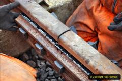 2020-01-08 Track renewal Cowpat Crossing to just beyond Dickers Crossing. (203) 203