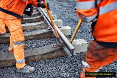 2020-01-08 Track renewal Cowpat Crossing to just beyond Dickers Crossing. (212) 212