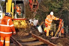 2020-01-08 Track renewal Cowpat Crossing to just beyond Dickers Crossing. (49) 049