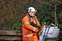 2020-01-08 Track renewal Cowpat Crossing to just beyond Dickers Crossing. (58) 058