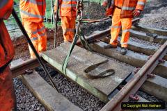 2020-01-08 Track renewal Cowpat Crossing to just beyond Dickers Crossing. (69) 069