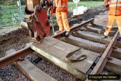 2020-01-08 Track renewal Cowpat Crossing to just beyond Dickers Crossing. (70) 070