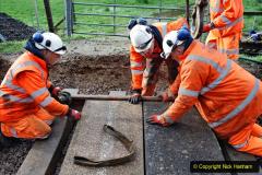 2020-01-08 Track renewal Cowpat Crossing to just beyond Dickers Crossing. (83) 083