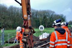 2020-01-08 Track renewal Cowpat Crossing to just beyond Dickers Crossing. (90) 090