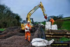 2020-01-08 Track renewal Cowpat Crossing to just beyond Dickers Crossing. (95) 095