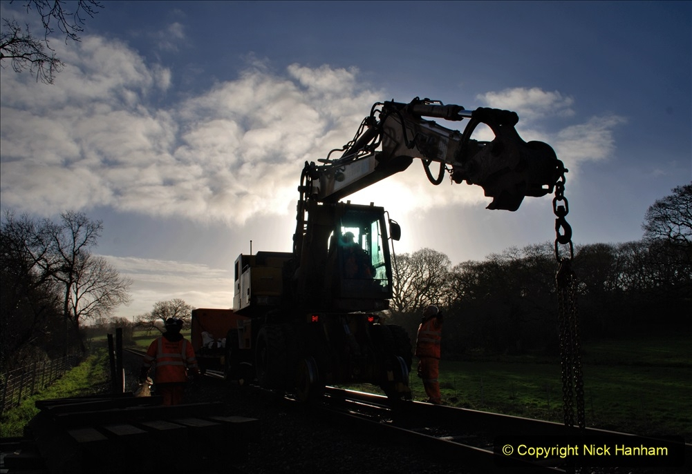 TRACK RENEWAL ON THE SR 09 JANUARY 2020