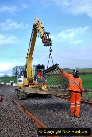 2020-01-09 Track renewal Cowpat Crossing to just beyond Dickers crossing. (103) 103