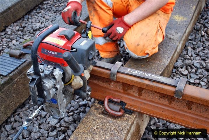 2020-01-09 Track renewal Cowpat Crossing to just beyond Dickers crossing. (117) 117