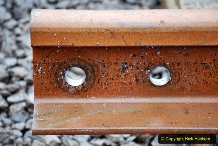 2020-01-09 Track renewal Cowpat Crossing to just beyond Dickers crossing. (121) 121