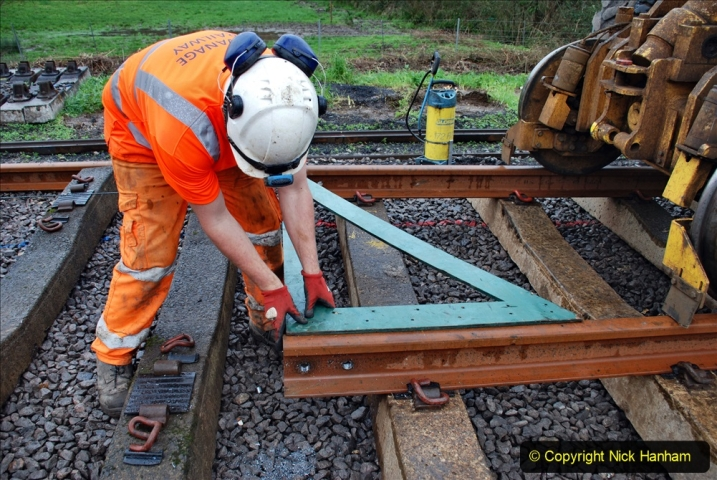 2020-01-09 Track renewal Cowpat Crossing to just beyond Dickers crossing. (122) 122