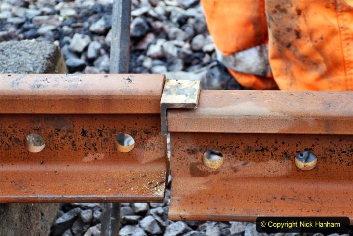 2020-01-09 Track renewal Cowpat Crossing to just beyond Dickers crossing. (128) 128