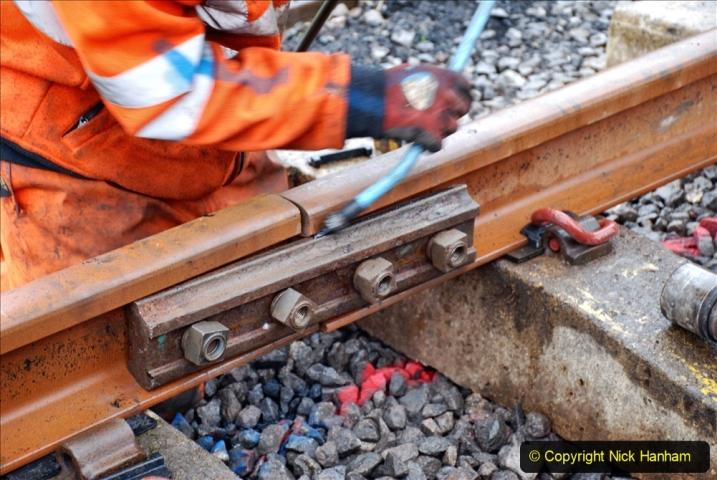2020-01-09 Track renewal Cowpat Crossing to just beyond Dickers crossing. (135) 135