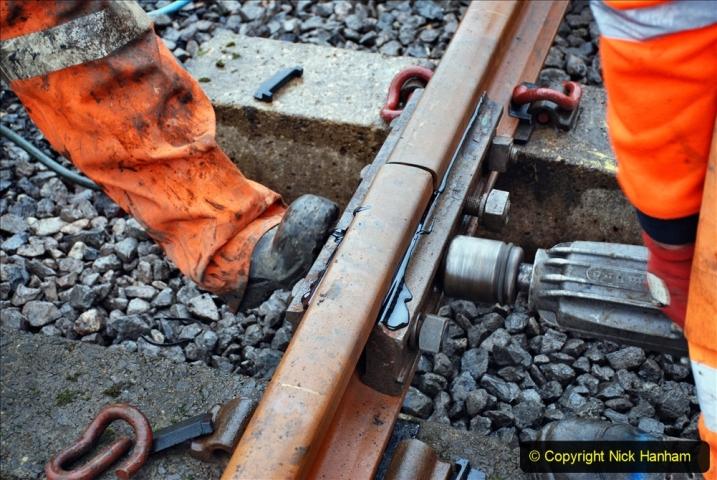 2020-01-09 Track renewal Cowpat Crossing to just beyond Dickers crossing. (136) 136