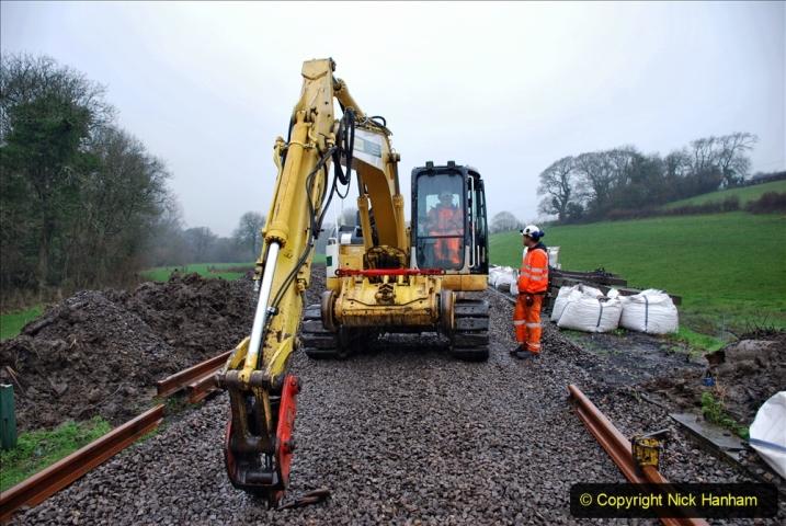 2020-01-09 Track renewal Cowpat Crossing to just beyond Dickers crossing. (143) 143