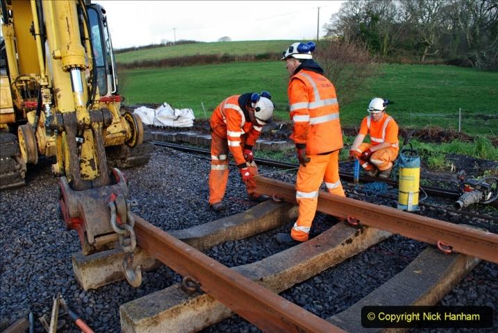 2020-01-09 Track renewal Cowpat Crossing to just beyond Dickers crossing. (28) 028