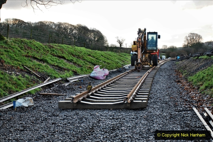 2020-01-17 Track renewal Cowpat Crossing to just past Dickers Crossing. (11) Drainage Work. 11