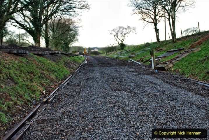 2020-01-17 Track renewal Cowpat Crossing to just past Dickers Crossing. (12) Drainage Work. 12