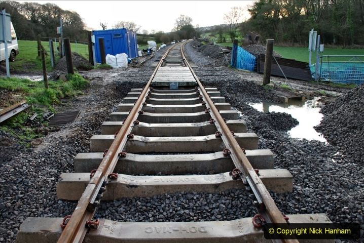2020-01-17 Track renewal Cowpat Crossing to just past Dickers Crossing. (14) Drainage Work. 14