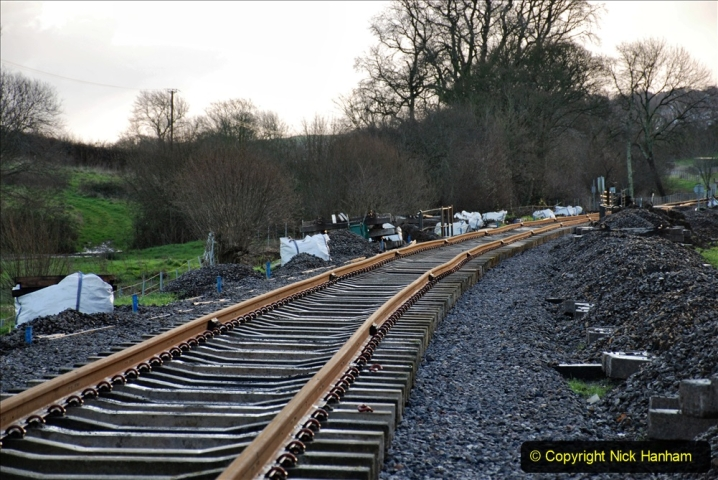 2020-01-17 Track renewal Cowpat Crossing to just past Dickers Crossing. (19) Drainage Work. 19