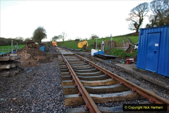 2020-01-17 Track renewal Cowpat Crossing to just past Dickers Crossing. (20) Drainage Work. 20
