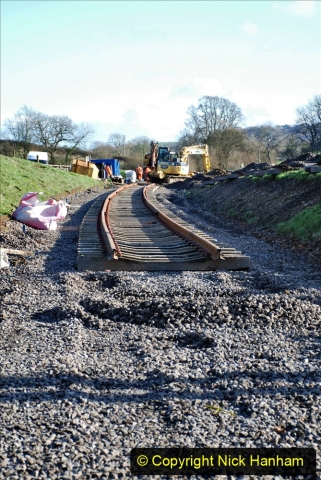 2020-01-17 Track renewal Cowpat Crossing to just past Dickers Crossing. (200) Drainage Work. 200