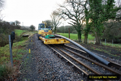 2020-01-17 Track renewal Cowpat Crossing to just past Dickers Crossing. (10) Drainage Work. 10