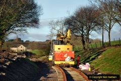 2020-01-17 Track renewal Cowpat Crossing to just past Dickers Crossing. (30) Drainage Work. 30