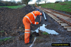 2020-01-17 Track renewal Cowpat Crossing to just past Dickers Crossing. (39) Drainage Work. 39