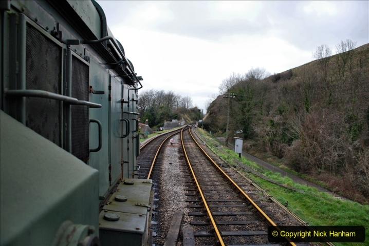 2020-01-24 Track renewall Cowpat Crossing to just past Dickers Crossing. (100) Ballast work. 100